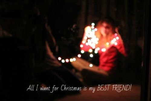 All I Want For Christmas Is My Best Friend Pictures