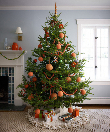 Modern Tangerine Christmas Tree Pictures Photos And