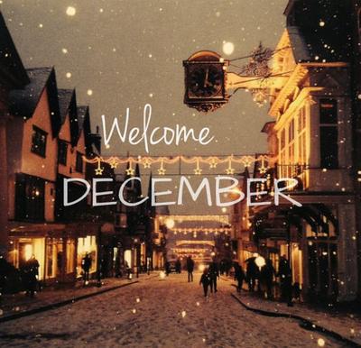 Nice Welcome December