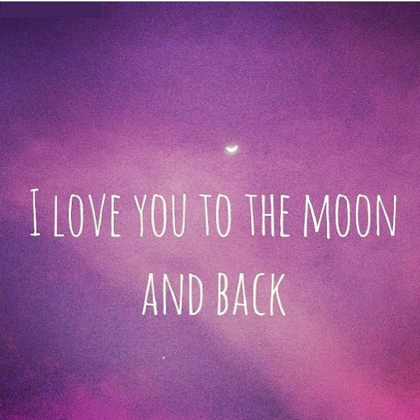 i love you to the moon and back quotes quotesgram