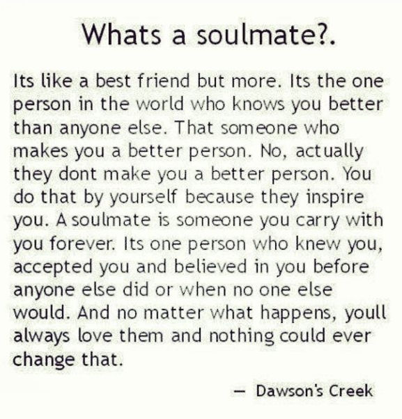 Whats A Soulmate Images - Frompo
