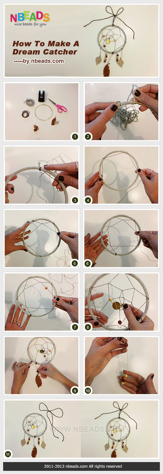 how to make a dream catcher pictures photos and images ForDream Catchers How To Make Them