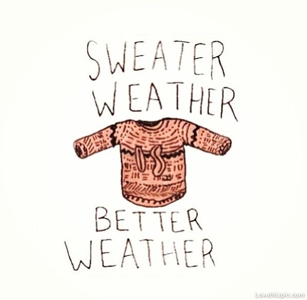 Sweater Weather Pictures, Photos, and Images for Facebook, Tumblr, Pinterest, and Twitter