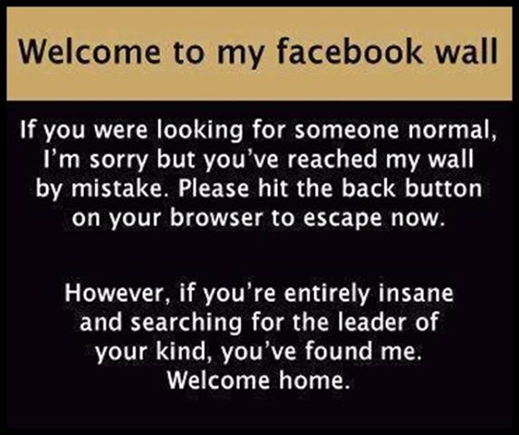 Welcome To My Facebook Wall Pictures, Photos, and Images for Facebook ...