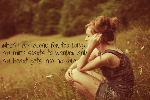 Quotes About Being Alone Sad Girl: When I Am Alone Pictures, Photos, And Images For Facebook