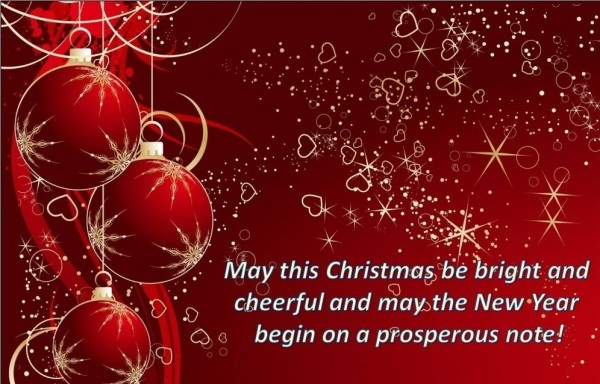 May This Christmas Be Bright And Cheerful Pictures, Photos, and Images for Fa...