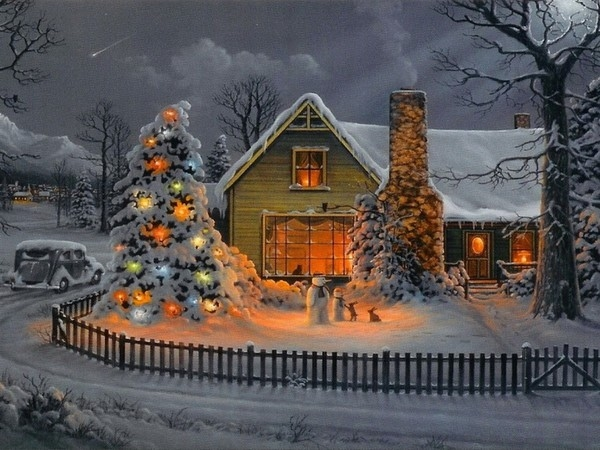 Christmas Illustration Pinterest.Christmas Illustration Christmas House Pictures Photos And