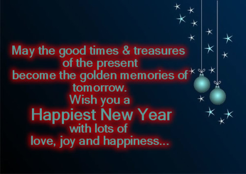 wish you a happiest new year
