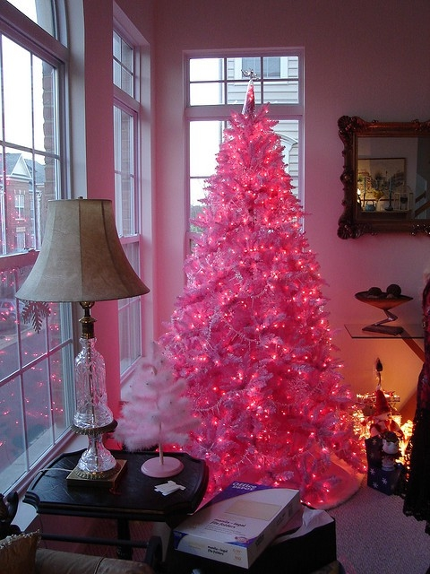 hot pink christmas tree - Hot Pink Christmas Tree