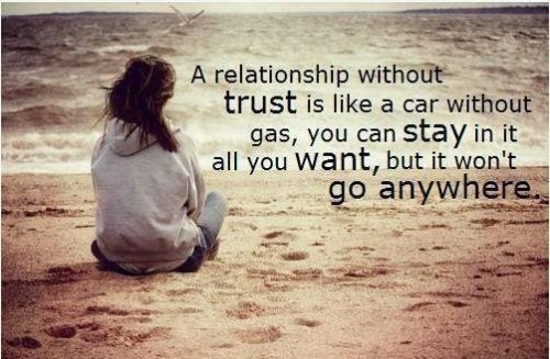 trust in a relationship images