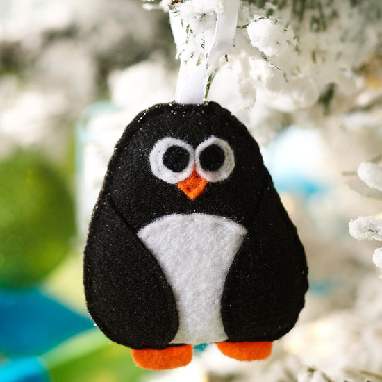 Felt Penguin Ornament Pictures, Photos, and Images for ...