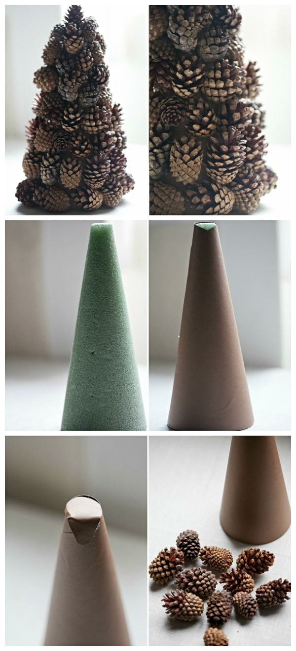 Diy Cone Christmas Trees.Diy Pine Cone Christmas Tree Pictures Photos And Images For