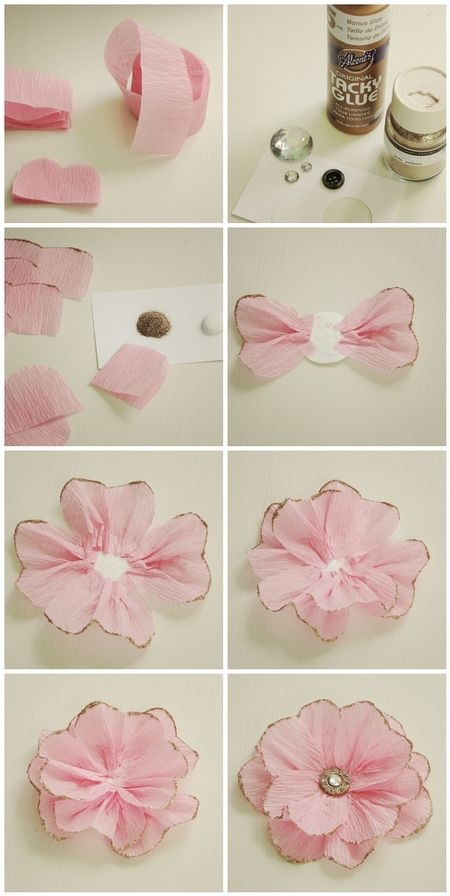 Diy Flower Gift Bow Pictures Photos And Images For
