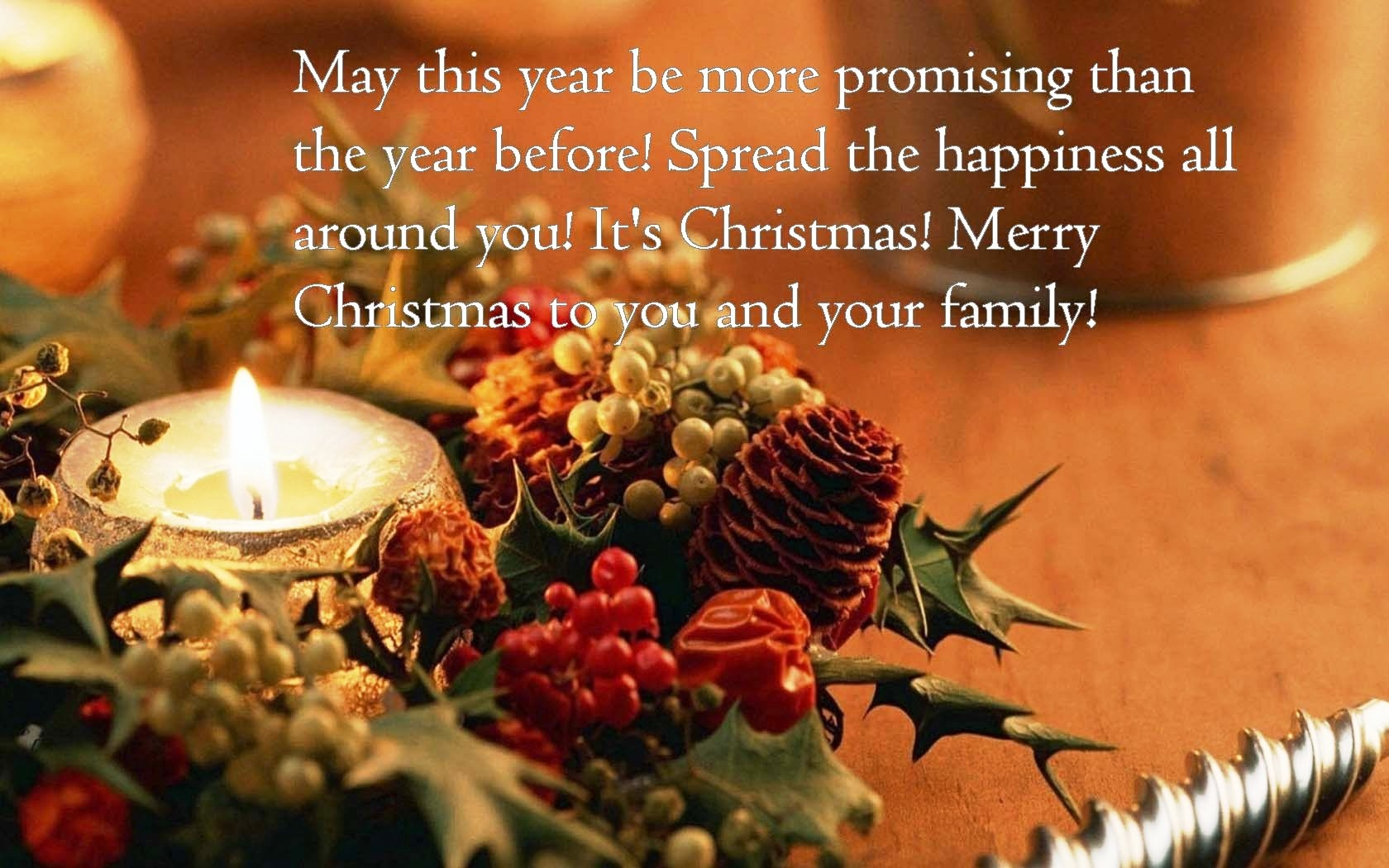 Quotes Xmas Wishes Merry Christmas To You And Your Family Pictures Photos And