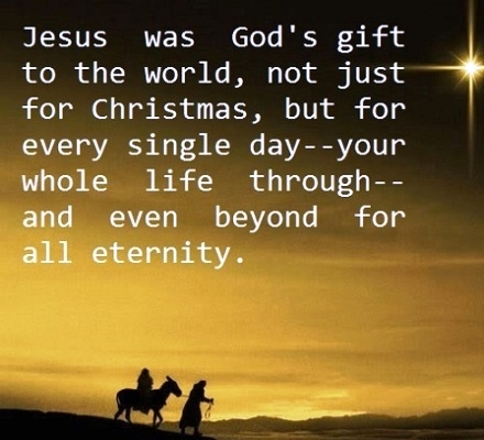 Jesus Christmas Quote.Jesus Was Gods Gift Pictures Photos And Images For