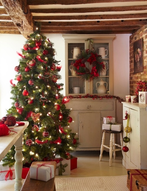 Country christmas pictures photos and images for facebook tumblr pinteres - Deco table noel chic ...