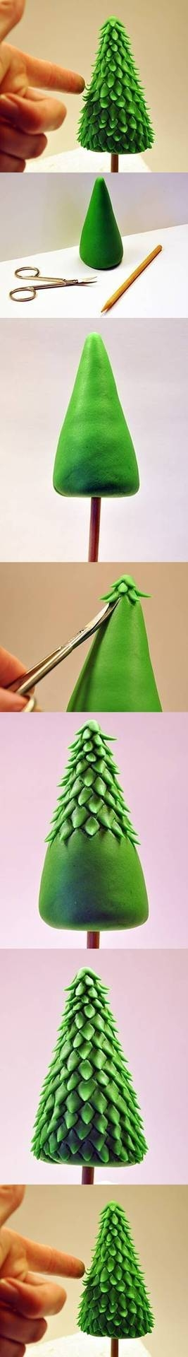 DIY Clay Christmas Tree