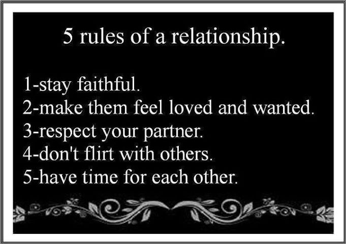5 rules of love