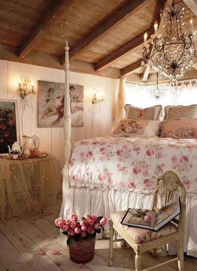 Rustic pretty floral bedroom pictures photos and images for Floral bedroom decor