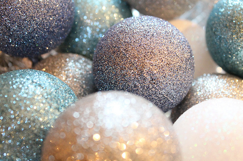 Pinterest Glitter Ornaments