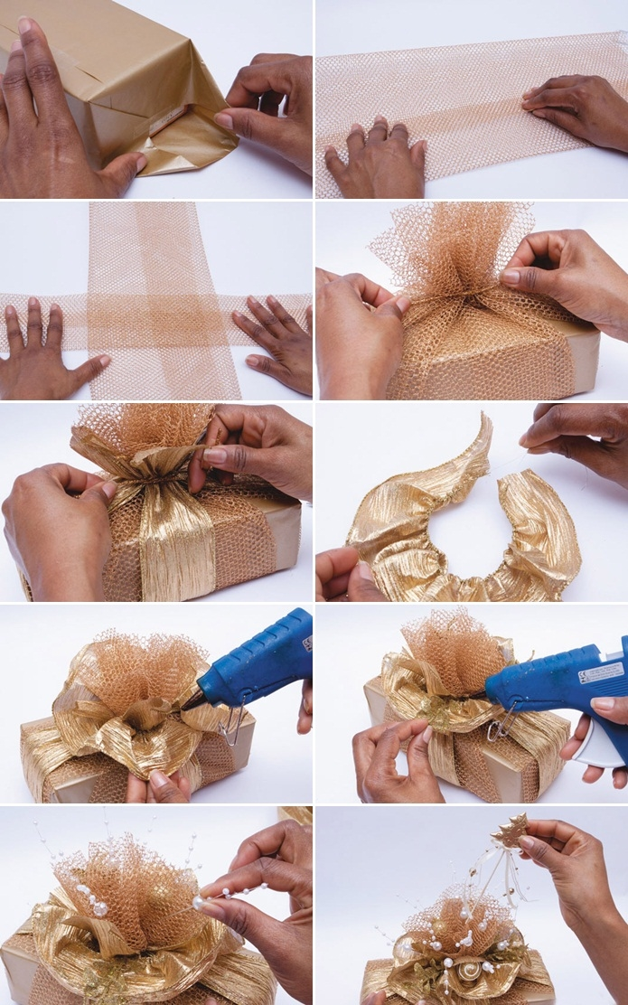 DIY Gold Christmas Gifts Pictures, Photos, and Images for Facebook ...
