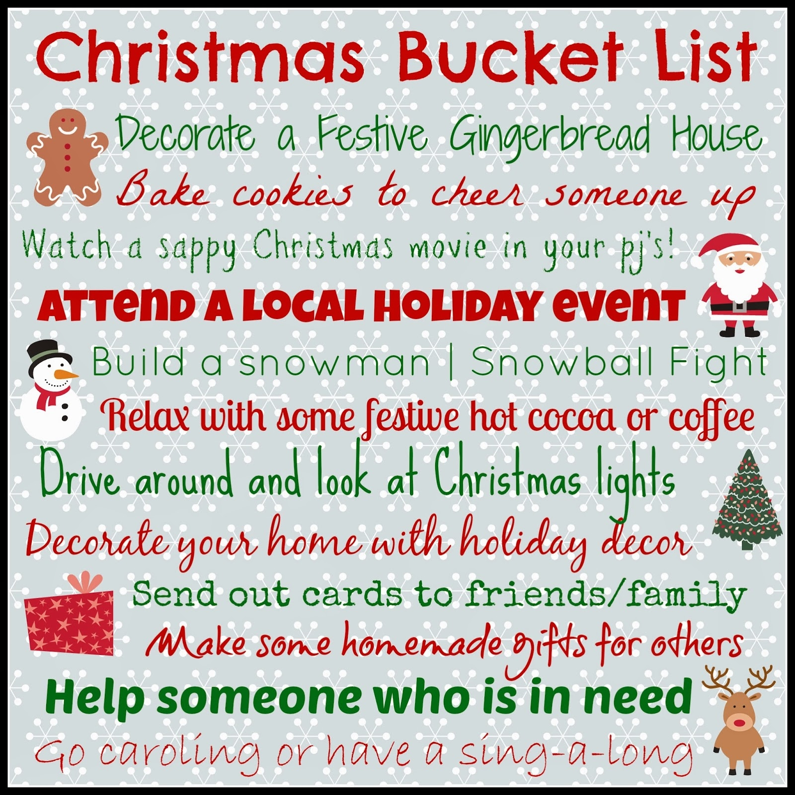 Christmas Bucket List Pictures Photos And Images For