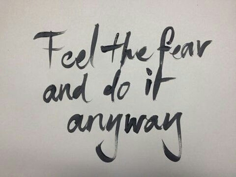 feel the fear and do it anyway pictures photos and images for