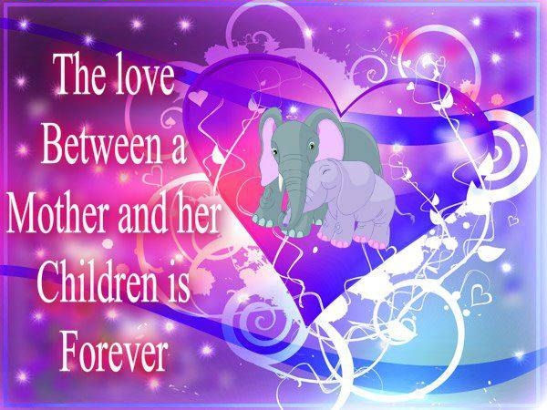 the love between a mother and children pictures photos