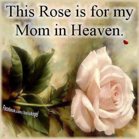my mom in heaven
