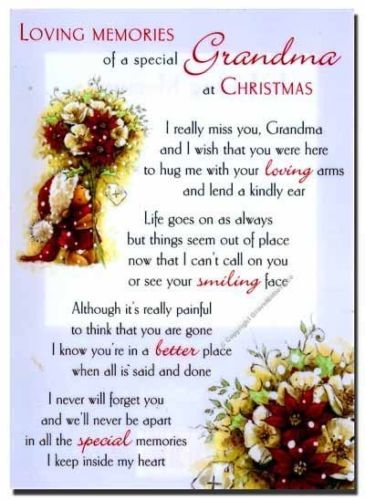 Missing Grandma At Christmas Time Pictures, Photos, and ...