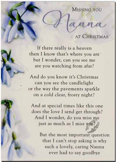 Nana Quotes: Missing Nana At Christmas Time Pictures, Photos, And