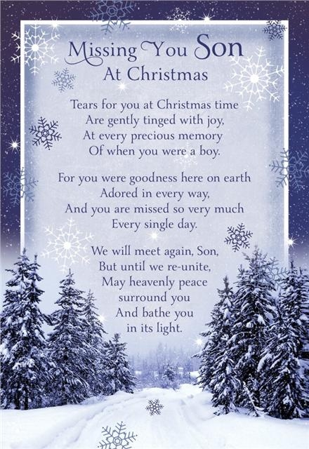 Missing You Son At Christmas Pictures, Photos, And Images