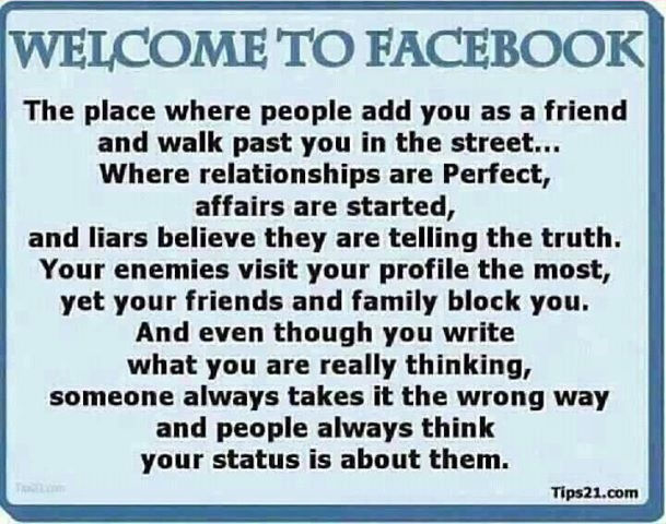 Facebook Quotes Welcome To Facebook Pictures Photos And Images For Facebook .