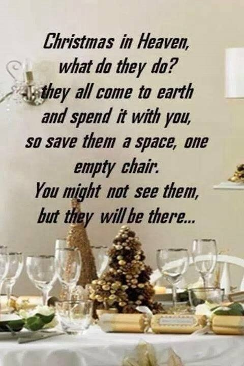 Christmas Quotes Loss Loved One: Christmas In Heaven, What Do They Do? Pictures, Photos