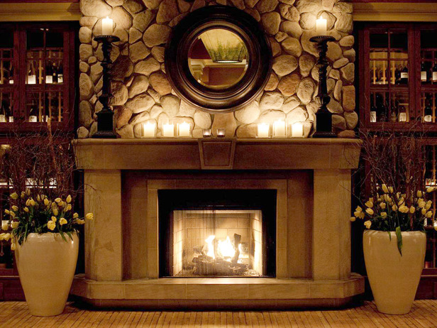Christmas fireplace mantle pictures photos and images for facebook
