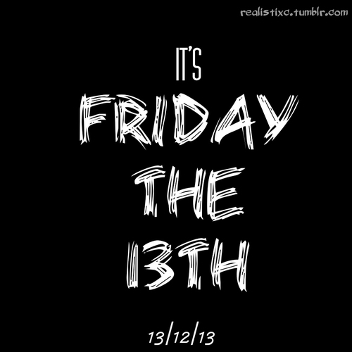 Friday The 13th Tumblr