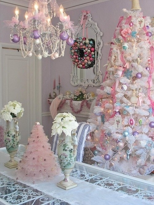 Christmas pastel decor pictures photos and images for - Petite maison de noel decoration ...