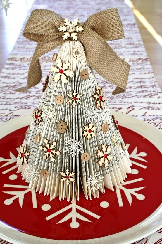 paper book christmas tree - Christmas Tree Book