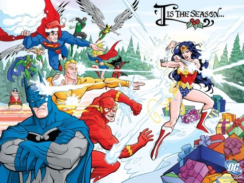 Christmas DC Comics Pictures, Photos, and Images for Facebook ...