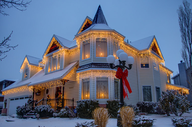 Beautiful Home Decorated For Christmas Pictures Photos And - Beautiful houses tumblr