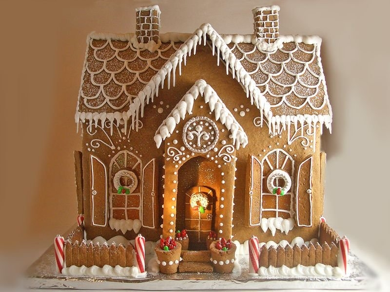 Clipart Gingerbread House Cake Ideas And Designs