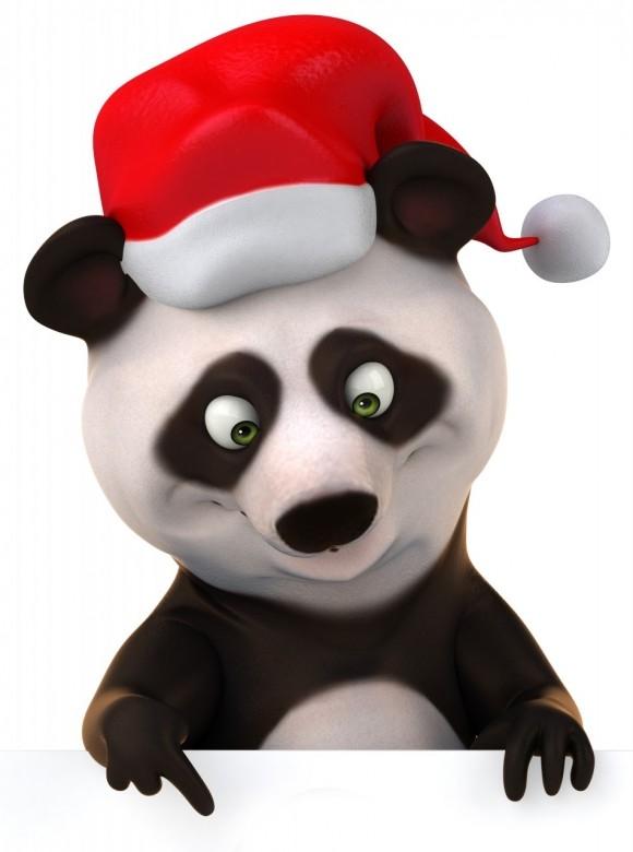 Cute christmas animals - photo#22