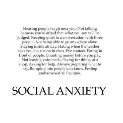 Social Anxiety Pictures, Photos, and Images for Facebook ...