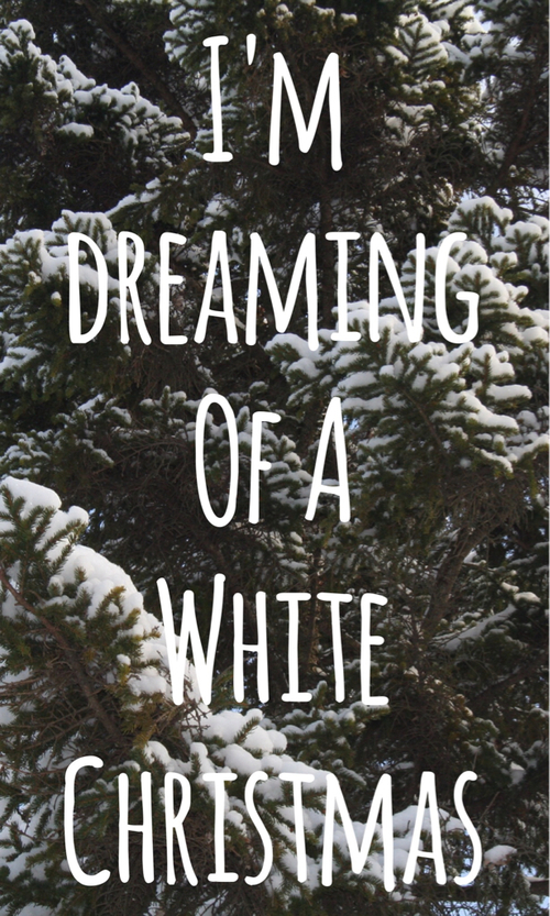 I'm Dreaming Of A White Christmas Pictures, Photos, and Images for ...