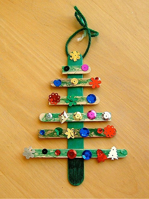 Popsicle Stick Christmas Tree Pictures, Photos, and Images for ...