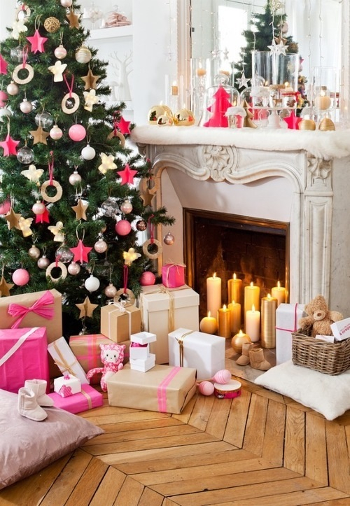 Girly christmas pictures photos and images for facebook tumblr pinterest - Idee decoration table noel ...