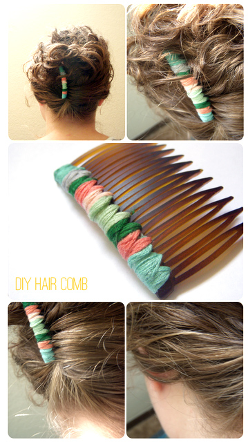 How To Make A Craft Paper Hair Comb