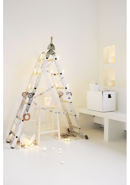 Ladder Christmas Tree.Ladder Christmas Tree Pictures Photos And Images For