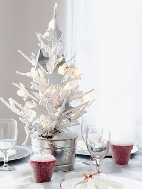 White tree centerpiece pictures photos and images for