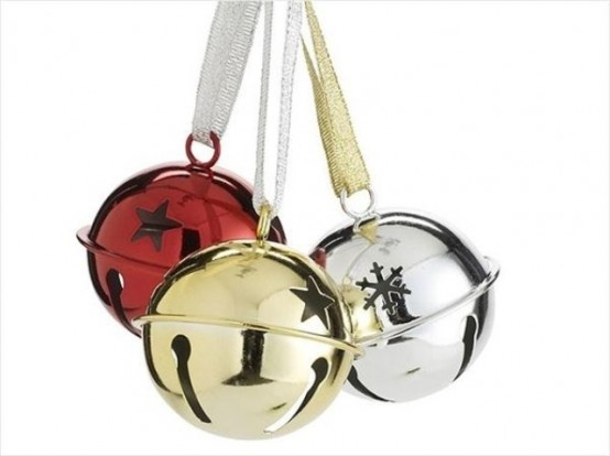 Red Gold And Silver Bells Pictures Photos And Images For Facebook New Silver Bells Christmas Decorations